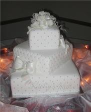torta bude nakoniec takáto (bez mašiel)