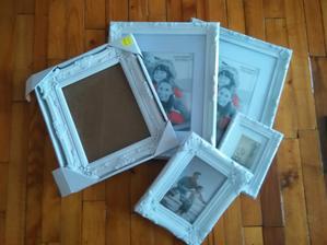 Rámečky k fotokoutku, svatebnímu stromu a dalším ( něco určitě vymyslím)