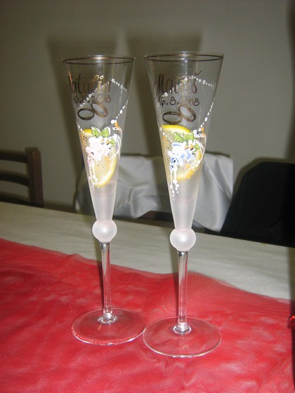Natália Novanská{{_AND_}}Matúš Cáder - svadobné poháre