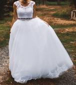 Ponúkam na predaj Svadobné šaty HADASSA LANY, 36