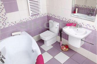 koupelnu bud do fialova