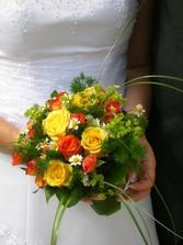 Ostatní nevěsty prominou, ale je to ta nejhezčí kytička, co jsem viděla ;-)