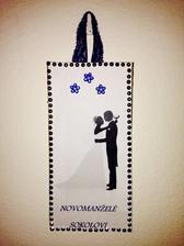 Cedulka na novomanželský pokoj 💙