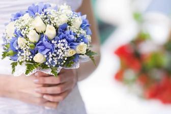 Takto podobně bude vypadat ma svatební kytice