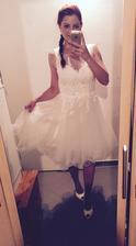 Popůlnočky :) lepší foto dodám po svatbě.. Pro zajemkyně budou v prodeji po 16.7. ;)