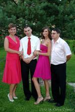 ženich s rodinou