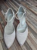 bílé střevíčky Cortina, 36