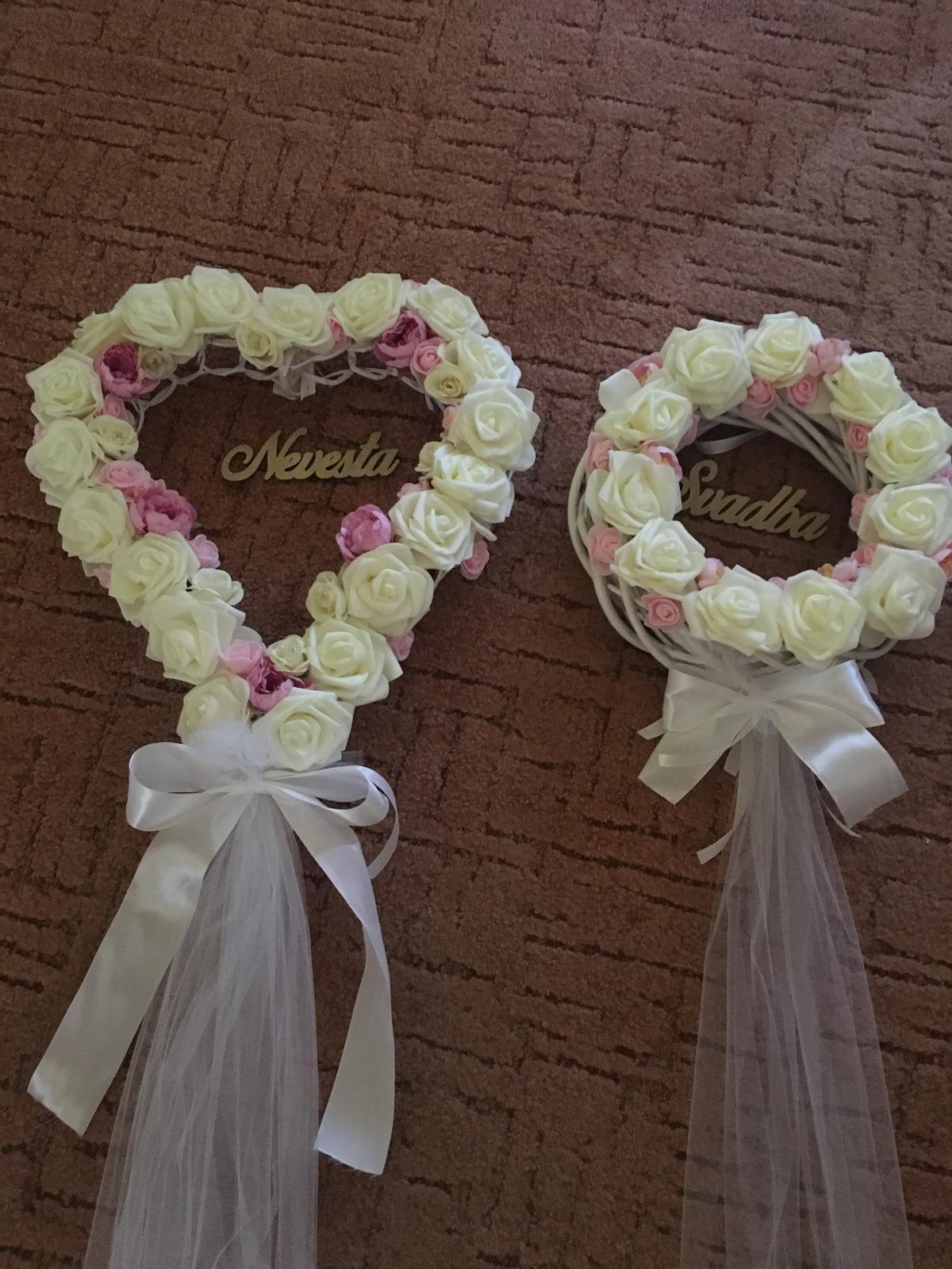 Bride to be :) - Venceky na dvere :) -vlastná tvorba