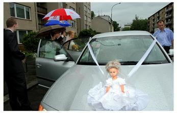 zmoklé nevěsty