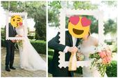 Vkusný fotorám na svadobné fotenie (86 cm x 68cm) ,