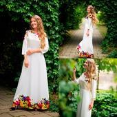Vílí šaty vhodné na venkovskou svatbu/na večer, 36