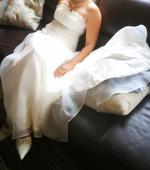 Nabízím k prodeji svatební šaty vel. 38-40, 39