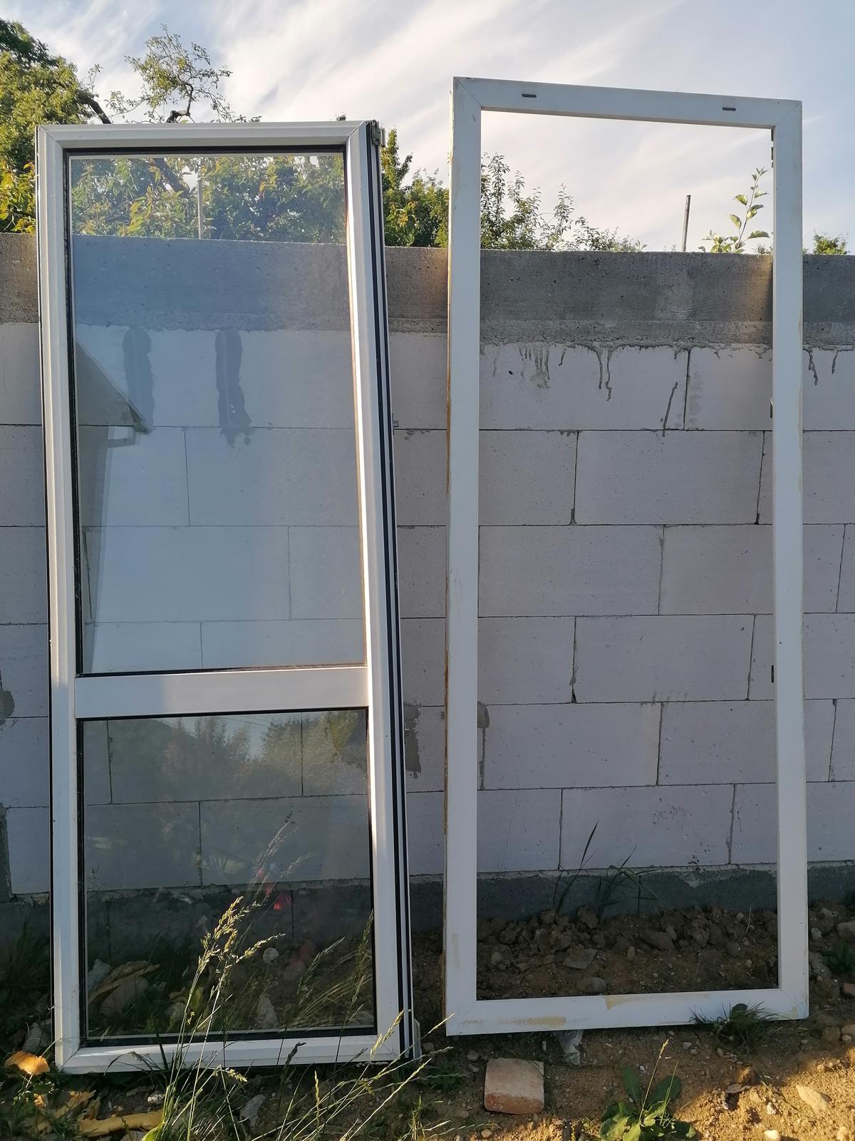 Dvere plastové - Obrázok č. 1