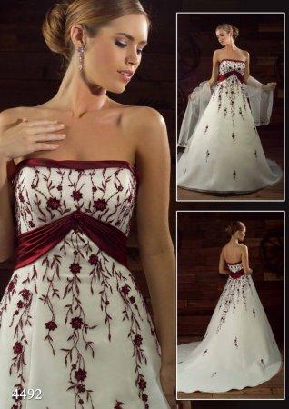 Krááásne červeno-biele šaty - Obrázok č. 15