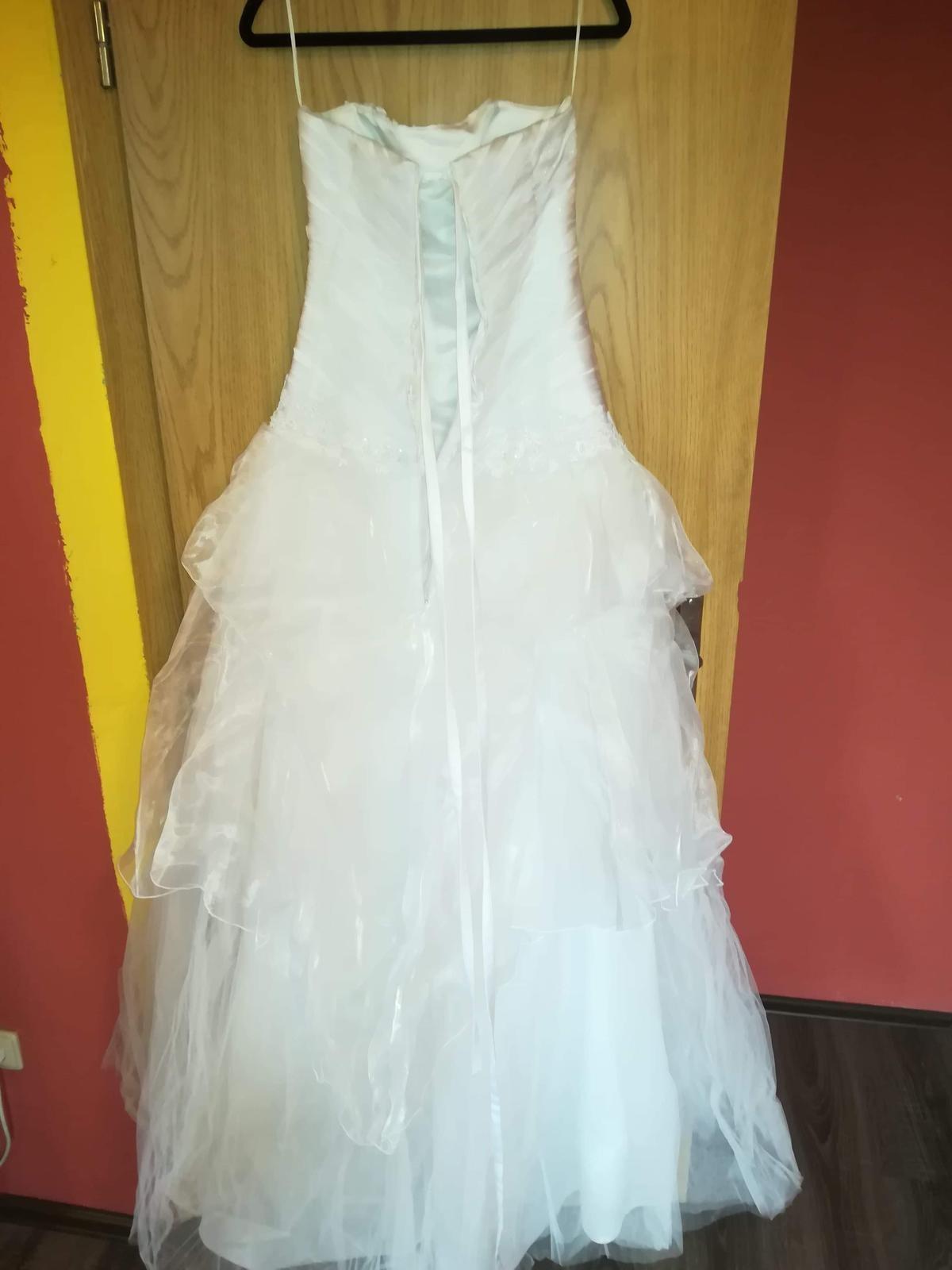 Svatební šaty vel.36 - Obrázek č. 3