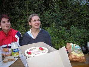 Torta, kde je napisane zbohom Slobodienka