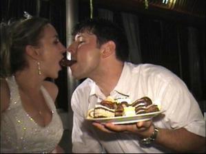 aspon jeden kolac sme skusili na svadbe