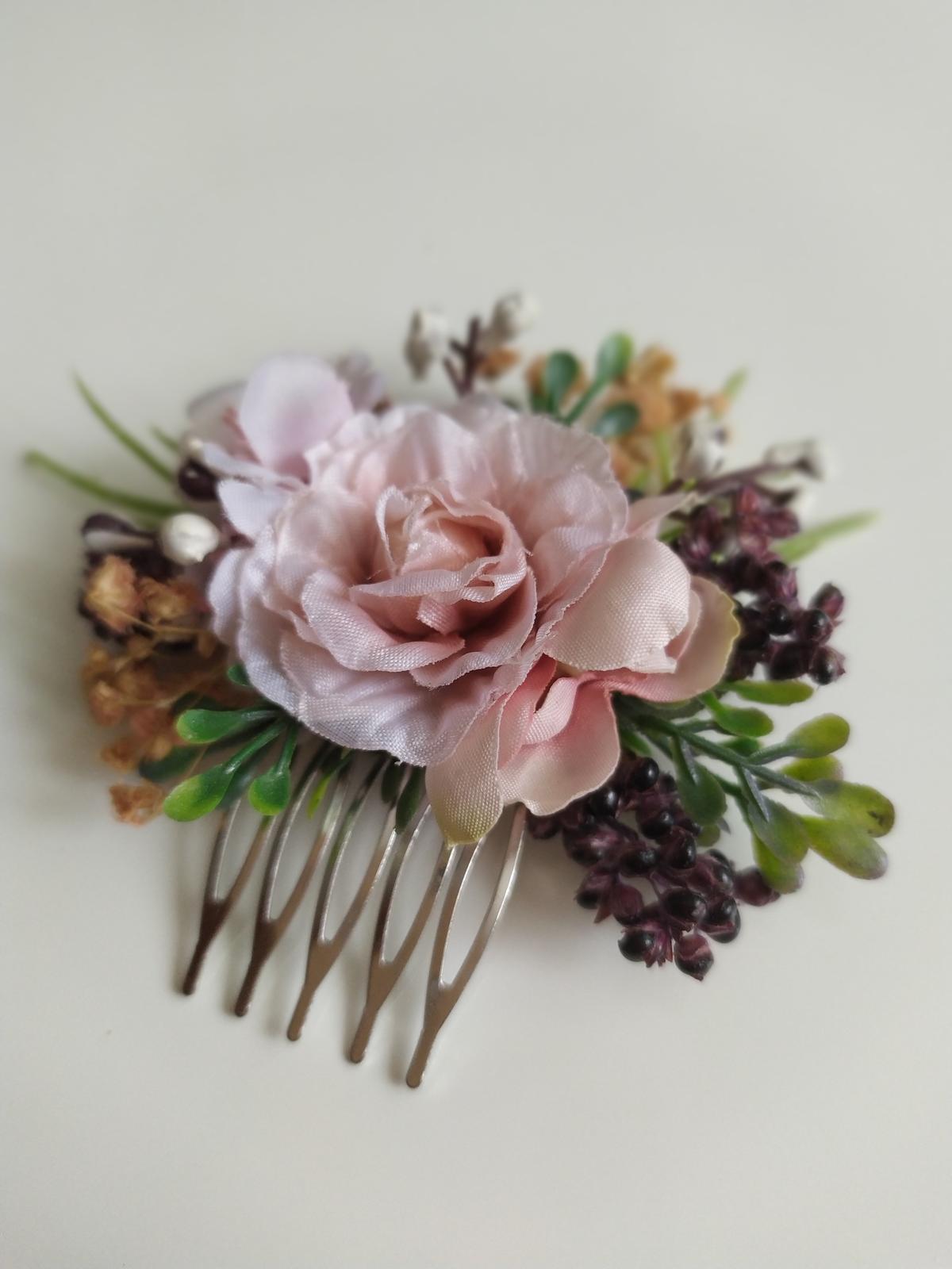 Květinový hřebínek - Obrázek č. 1