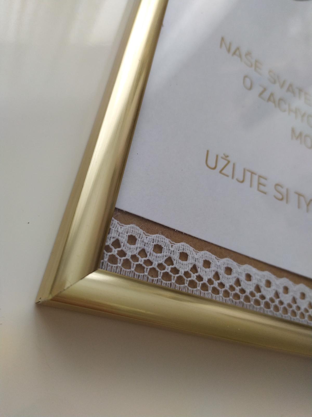 Zlatý rámeček - Obrázek č. 1
