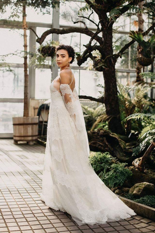 Boho svatební šaty - Obrázek č. 1