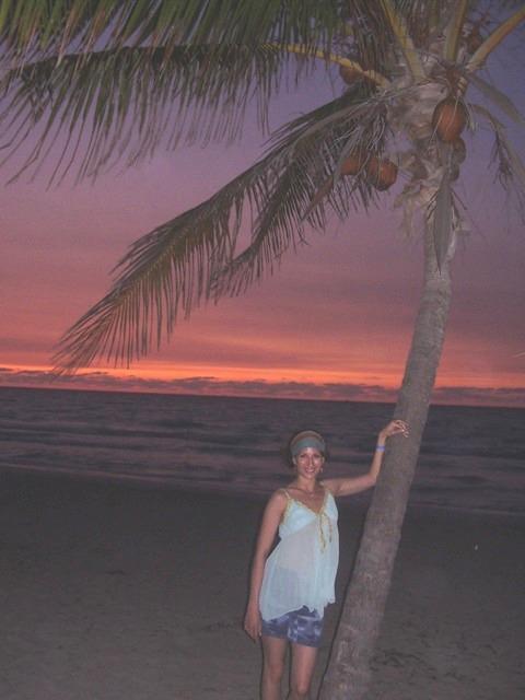 Zapad slnka na plazi Varadero