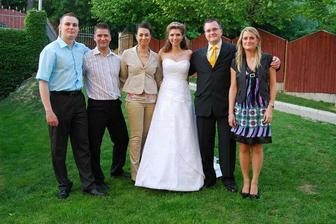 kolegové nevěsty :)