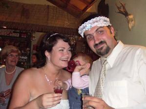 pije celá rodina