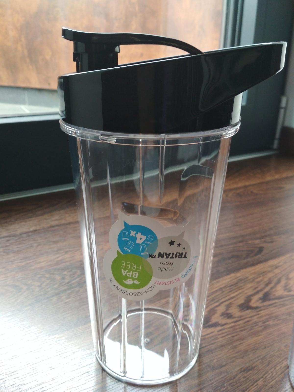 nové nádoby Eta na smoothie s viečkom na pitie 700ml - Obrázok č. 3