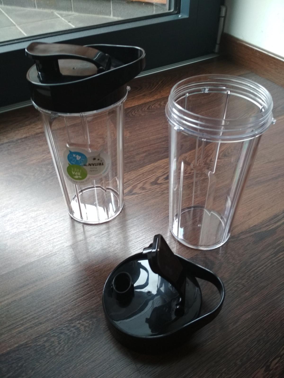 nádoby Eta na smoothie s viečkom na pitie 700ml - Obrázok č. 1