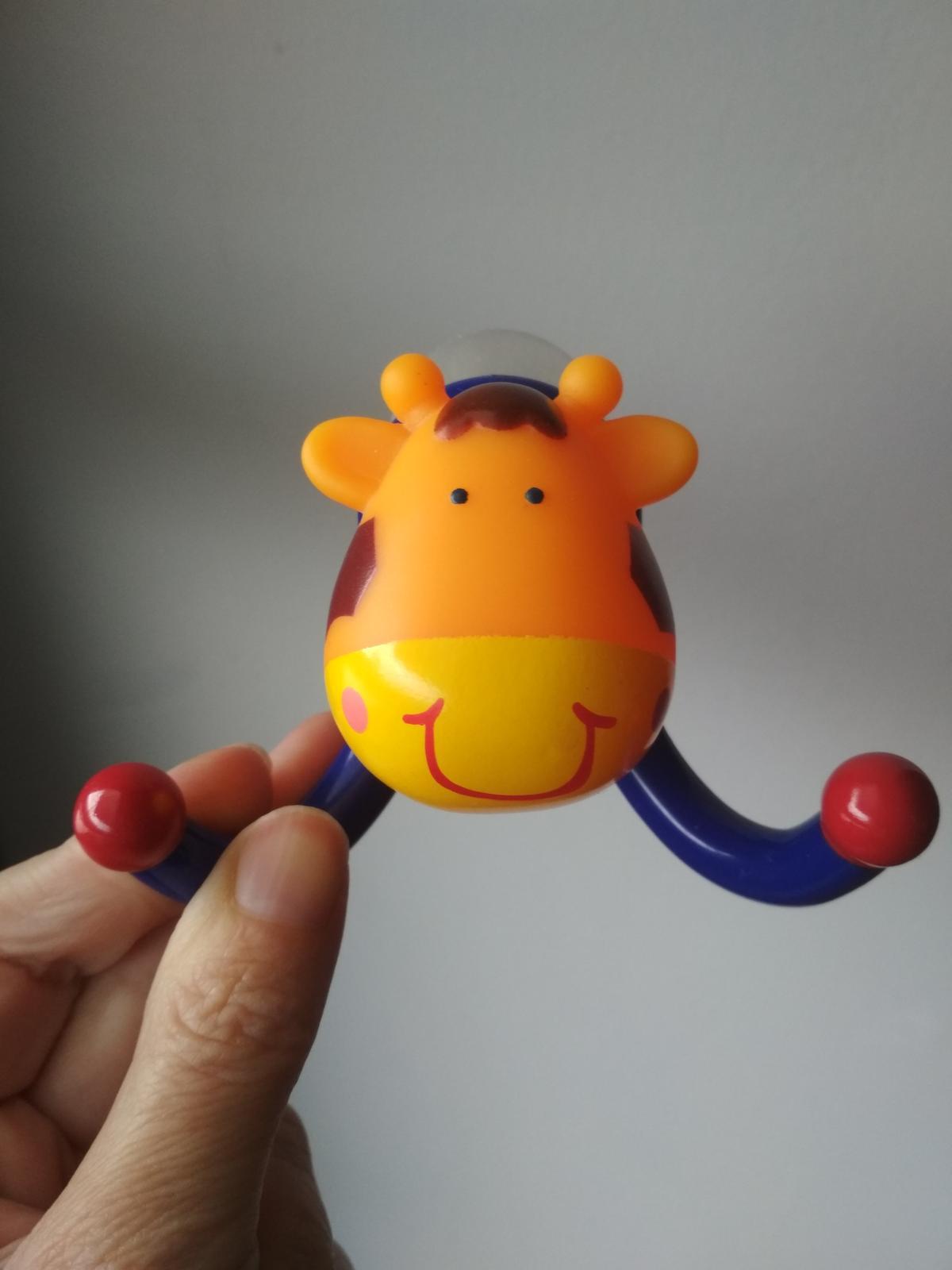Detský vešiak žirafa do kúpeľne - top stav - Obrázok č. 1