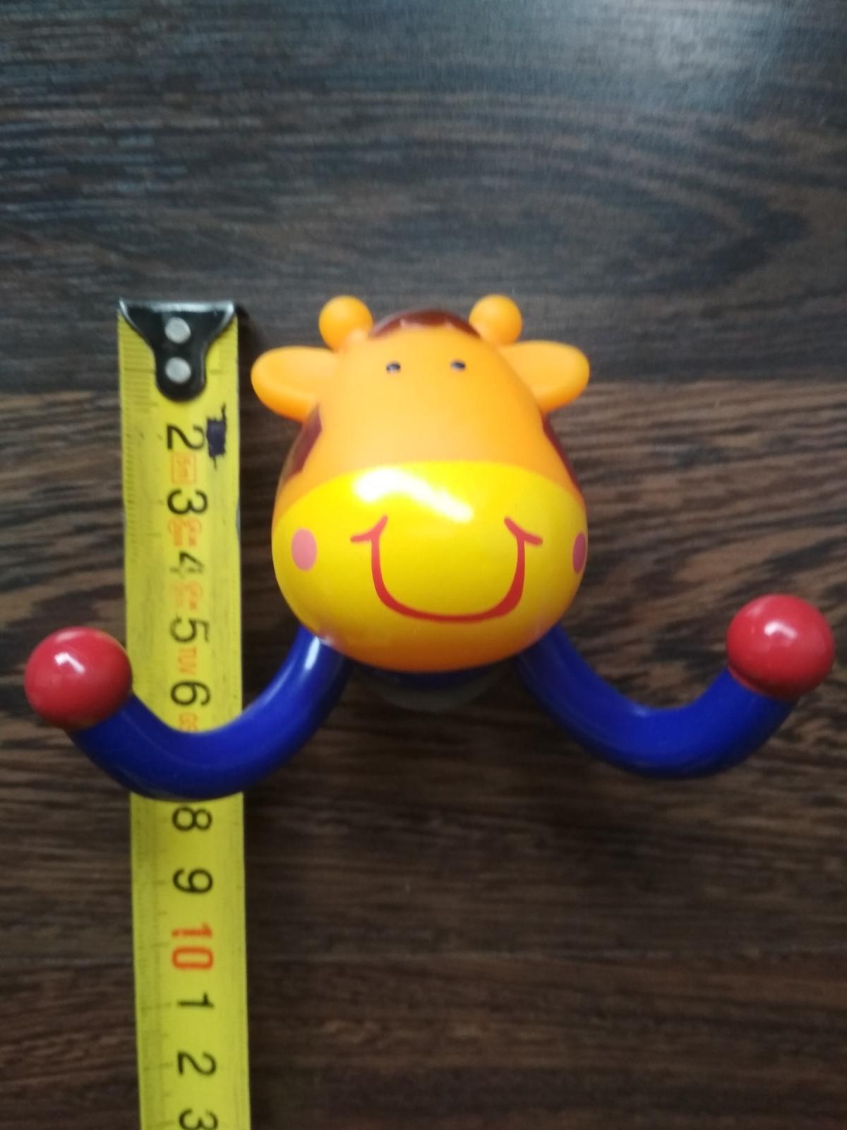 Detský vešiak žirafa do kúpeľne - top stav - Obrázok č. 2
