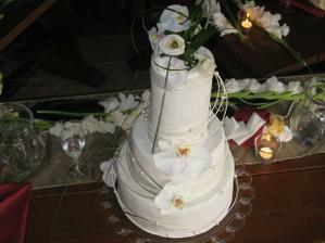 ako som na zaciatku spominala v popise,tato torta bola prekvapenie,vobec som netusila ako bude vyzerat a bola nadherna,krasne vyzdobena:)