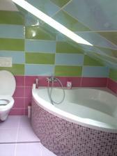 21.3.2010 - detská kúpeľňa v podkroví