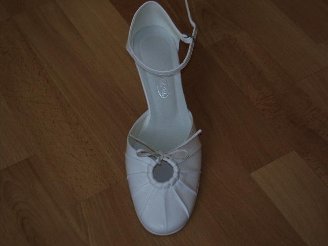 Moje pripravy - moje svadobné topánočky