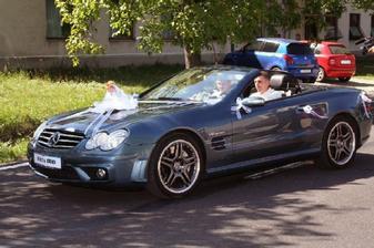 svadobne auto
