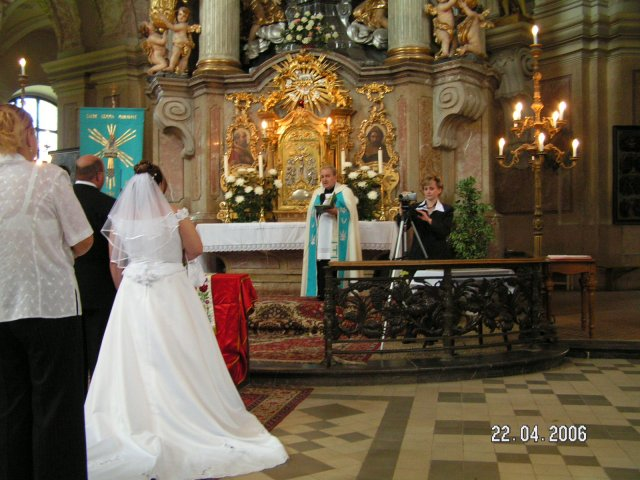 Markéta{{_AND_}}Michal - u oltáře