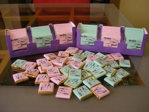 čokoládky...moje vlastní výroby, mám z nich hroznou radost