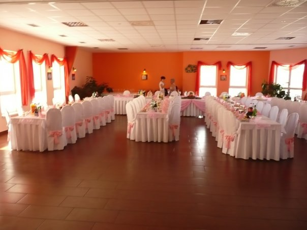 Wedding inspirations - naša sála