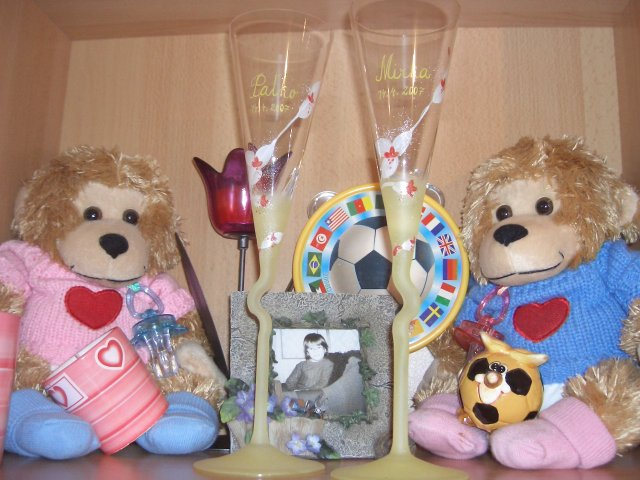 Mia a Pablo - ...naše poháre...