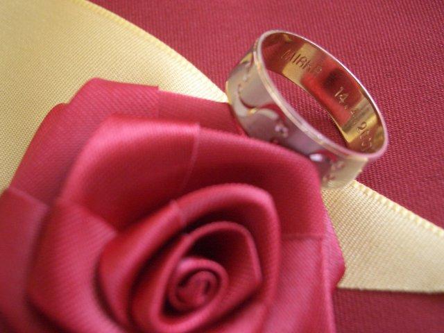 Mia a Pablo - ...aj s menom a dátumom svadby...