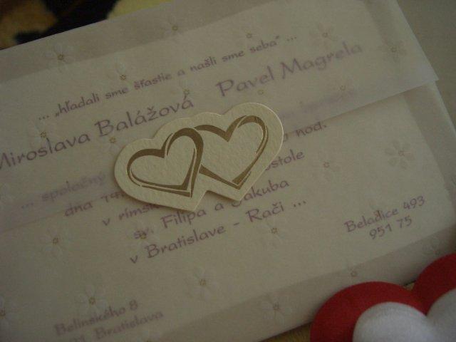 Mia a Pablo - ...naše svadobné oznámenie...