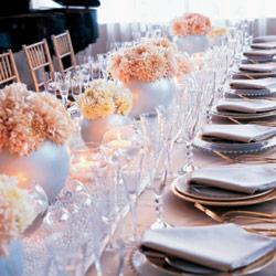 Moje inspiracie - kvetinky na stole
