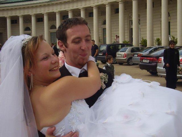 Moje budoucí švagrová se svým manželem