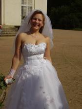 Danča byla opravdu krásná nevěsta