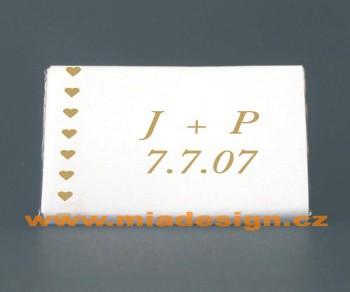 Inspirace - 1,7 x 3,5cm (6g) za 6,50 Kč/ks
