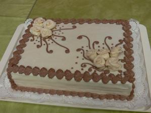 ... tortu piekla mamka a zdobila suseda-cukrarka ... ale bola najkrajsia zo vsetkych ... aspon podla mna ...