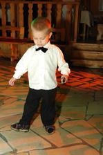 Najmladší a najmenší tanečník - môj synovec Karolko (synček mojej sestry)