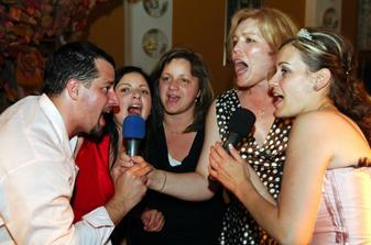 O karaoke bol veľký záujem :-)