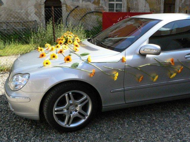Vyzdoby svadobných  áut - Obrázok č. 20