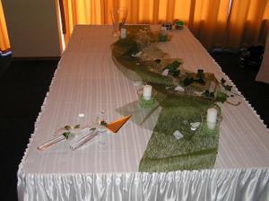 pripravene na svadobnu tortu